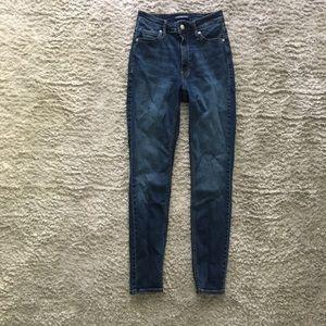 Calvin Klein high-waisted jeans style# 42BP501